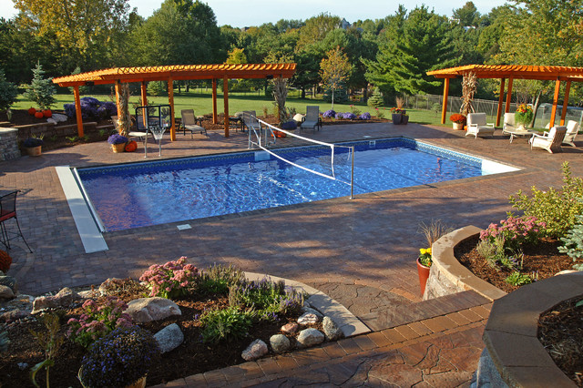 ultimate backyard challenge traditional pool