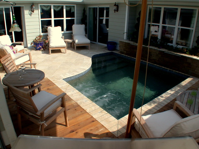 ultimate backyard experience traditional pool