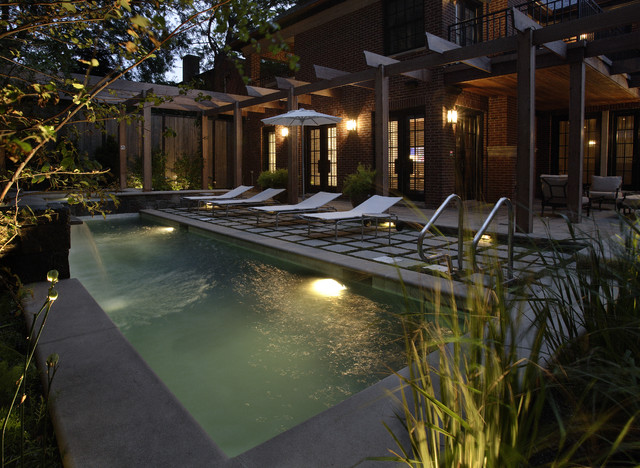 modern pool by The Garden Consultants, Inc.