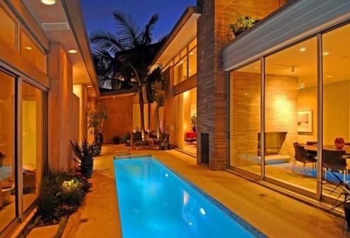 Urban L.A. villa contemporary-pool