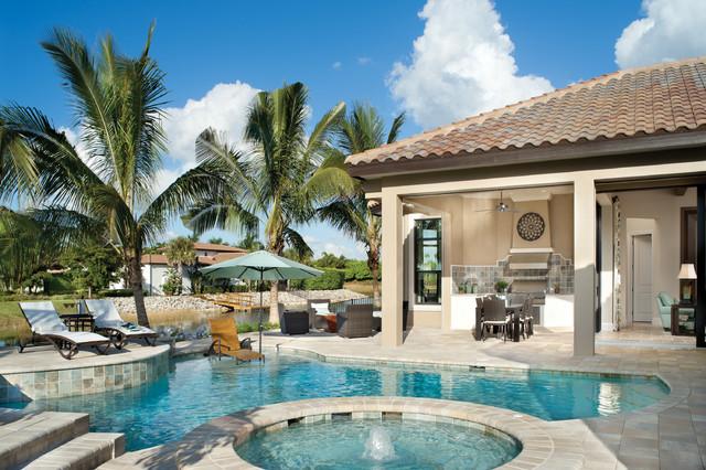 Valencia 1180 Mediterranean Pool Tampa By Arthur
