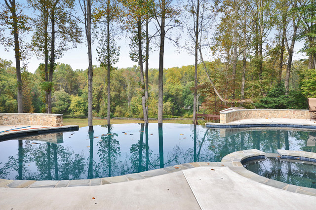 Fairfax Station VA New Construction traditional-pool