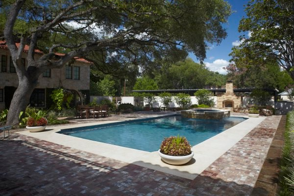 Vickery Residence traditional-pool
