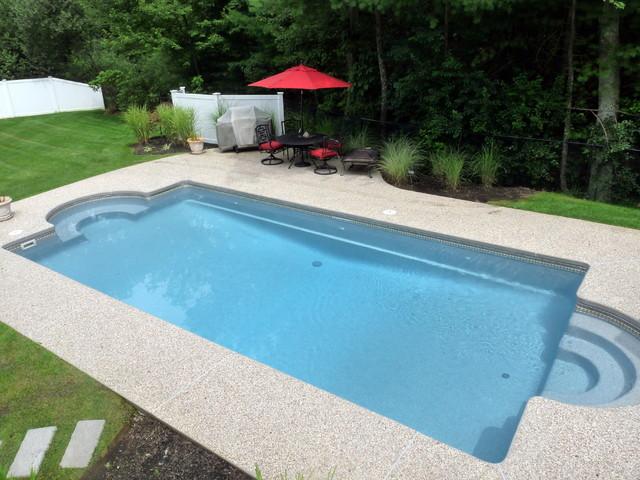 Viking fiberglass pools acapulco classique piscine for Piscine leisure pools