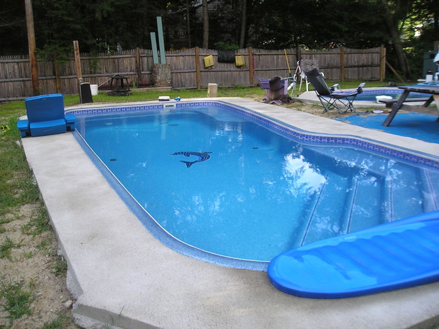 Viking fiberglass pools baja traditional pool boston for Fiberglass pool manufacturers