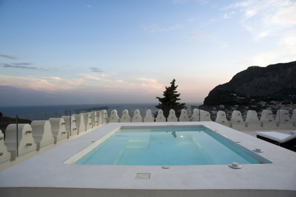 Villa Ferraro, Capri - Italy contemporary-pool