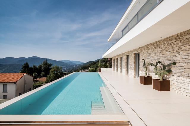 Fesselnd Villa Lombardo   Luxus In Der Schweiz Modern Pool