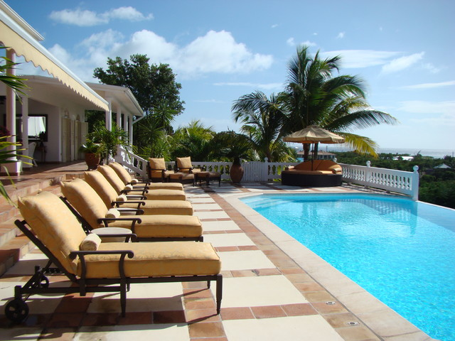 Villa Mille Fleurs, St. Martin, French West Indies tropical-pool