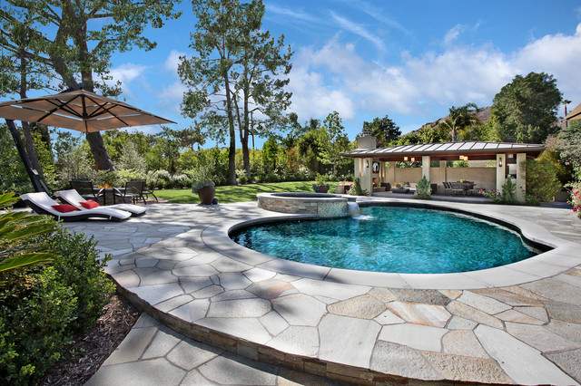 Villa park home contemporary pool orange county by for Pool design orange county