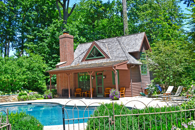 Modren Rustic Pool House Ideas In Mississippi U Design Inspiration