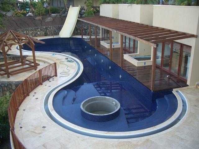 Virgin Gorda BVI contemporary-pool