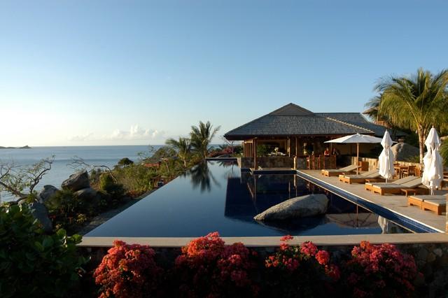 Virgin Gorda BVI tropical-pool