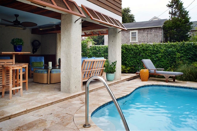 Virginia beach oceanside beach style pool richmond for Pool design richmond va