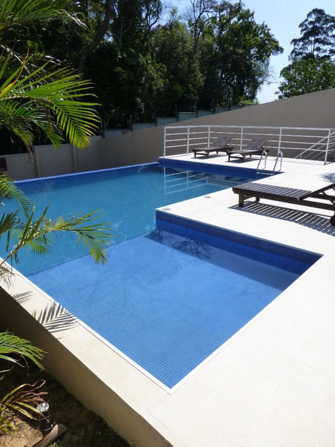 Example of a trendy pool design in Other