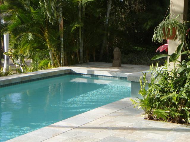 Wailea pool and spa asian pool hawaii by by design for Pool design hawaii