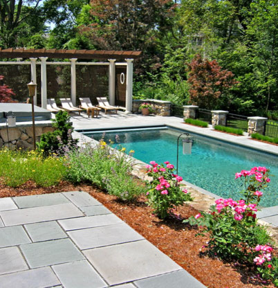 Warner Larson Landscape Architects - Private Residence traditional-pool
