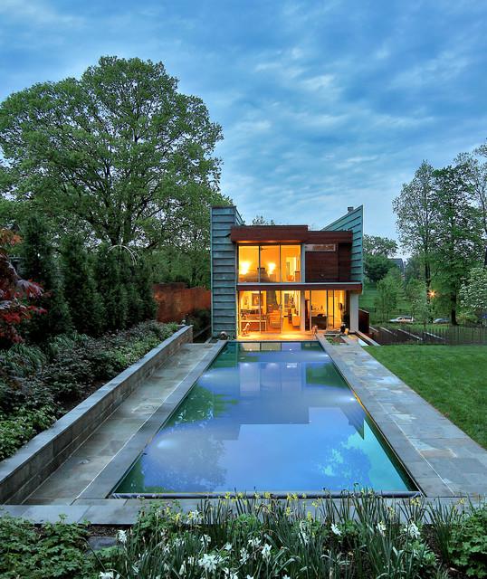 Washington Dc Residence Modern Pool Dc Metro By Travis Price Architects