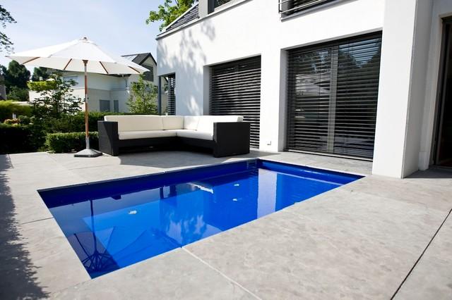 Wasserbecken for Stahl pool rechteckig