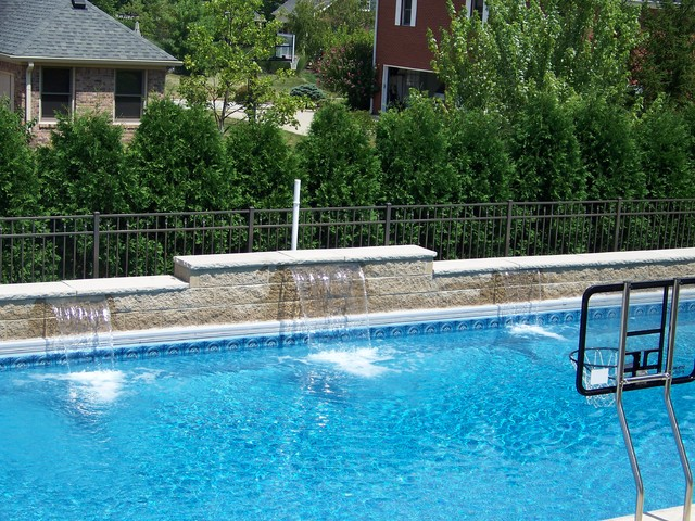 Water Features By Angie S Pool Amp Spa Inc Modern Pool