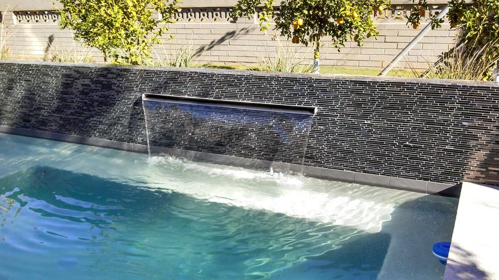 Pool - craftsman pool idea in Phoenix