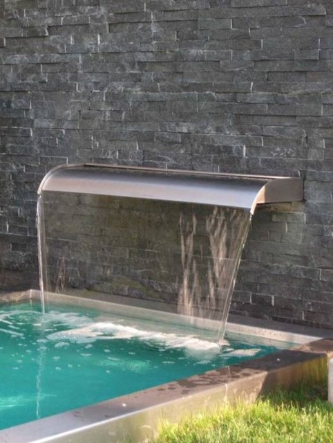 Water Features Contemporary Pool Phoenix By