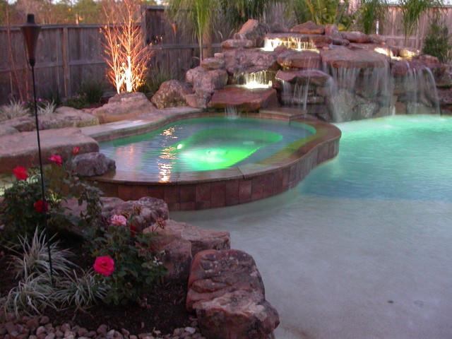 Waterfall Pool traditional-pool
