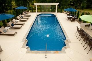 Weatherproof beautiful pool deck mediterranean pool nashville by sundek of nashville - Pool tables barrie ...