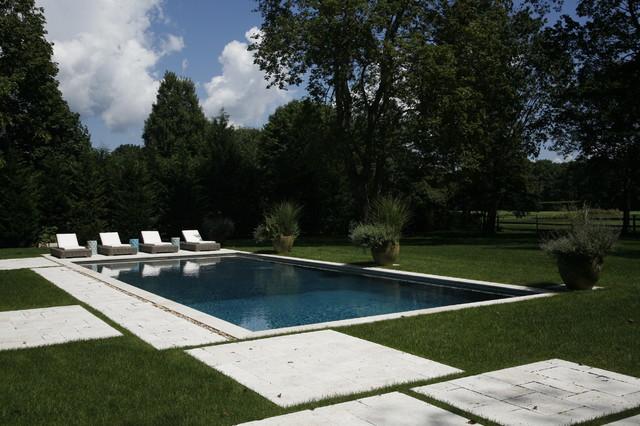 West Hampton Beach House eclectic-pool