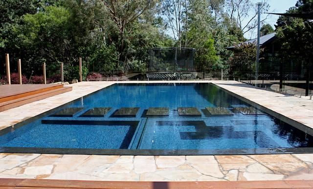 Wet Deck Beauty Modern Pool Melbourne By Minke