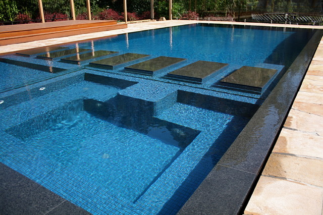 Wet Deck Beauty Modern Pool Melbourne By Minke Pools
