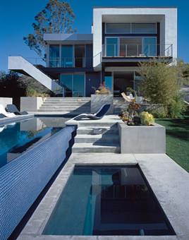 Wild Oak Drive modern-pool