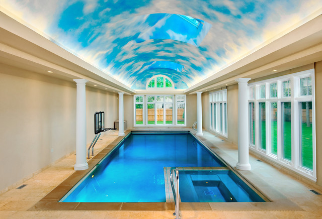 indoor pool and hot tub. Contemporary Pool Wilmette IL Indoor Swimming Pool And Hot Tub Traditionalswimmingpooland Intended And