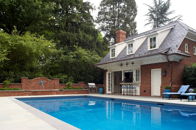 Windsor farms home traditional pool richmond by for Pool design richmond va