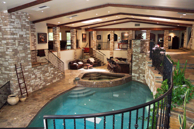 Wine Cellar Swimming Pool Remodel