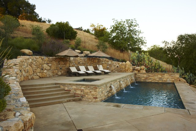 Wine Country Residence mediterranean-pool