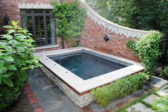 Winnetka Garden Spa Traditional Landscape Chicago