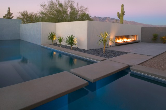Winter residence remodel modern pool phoenix by for Pool design tucson