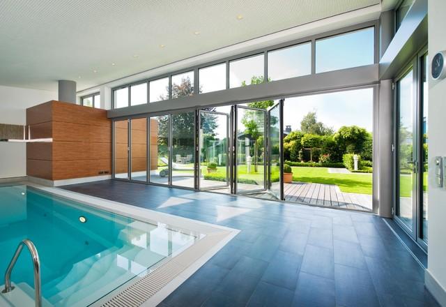 wintergarten mit pool, wintergärten galerie, Design ideen