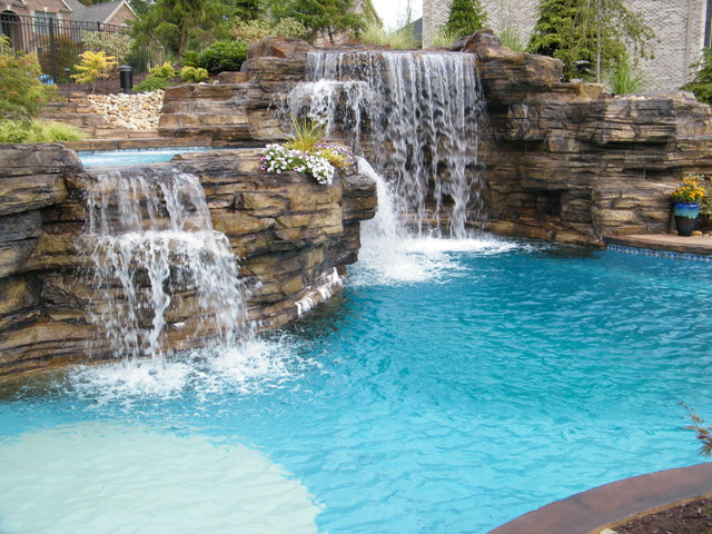 World Class Pools. Pittsburgh Premier Designs and Construction tropical-pool