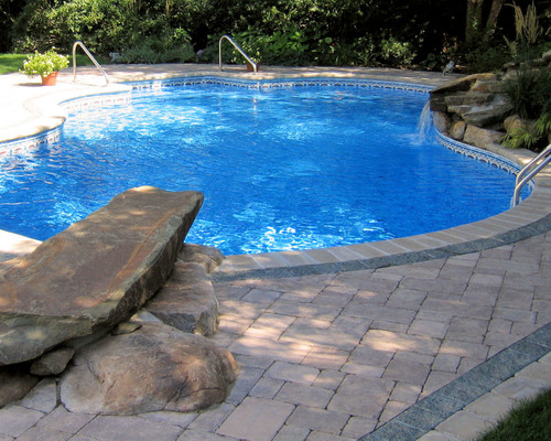 Working On A Jumping Rock For Our Pool Advice
