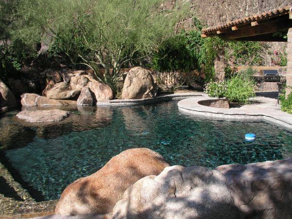 Xeriscape Gallery pool