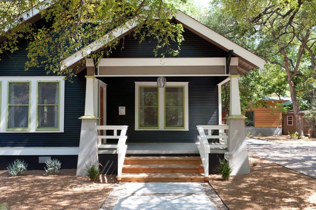 1940 retreat craftsman porch austin by rick for 1940s homes exterior design