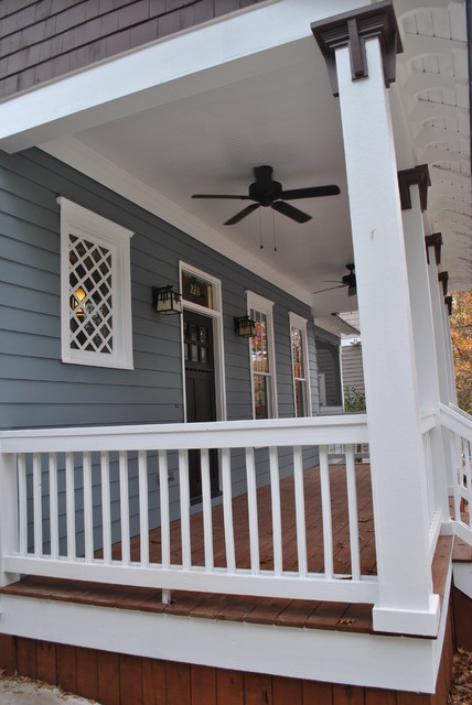 228 Jefferson Place - Whole House Renovation and Addition Decatur, GA (Oakhurst) traditional-porch