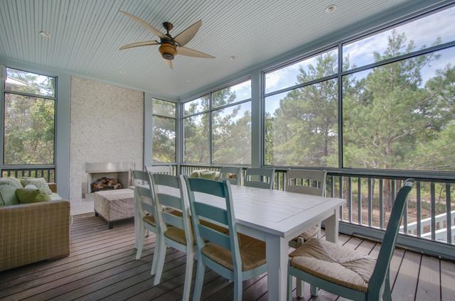 259 Red Cedar Miramar Beach, FL tropical-porch