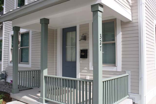 """327 Freyling Place Project - LEED for Homes """"Platinum"""" traditional-porch"""