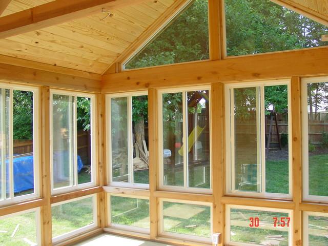 4 Season Rooms Traditional Porch Kansas City By