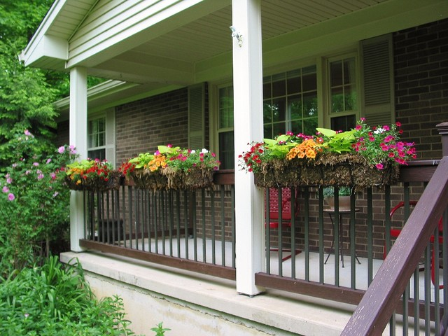 70 S Ranch Exterior Traditional Porch Cincinnati