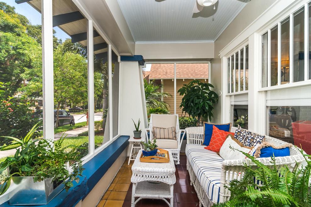 Elegant porch photo in Tampa