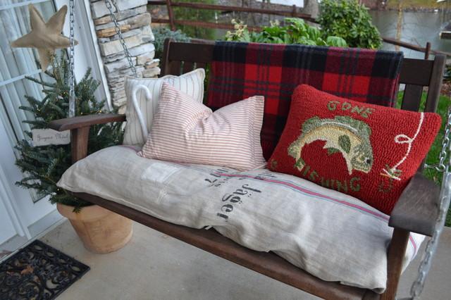 A Lakeside Porch eclectic-porch