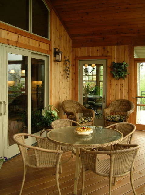 A midwest home traditional veranda minneapolis by for Midwest home designs